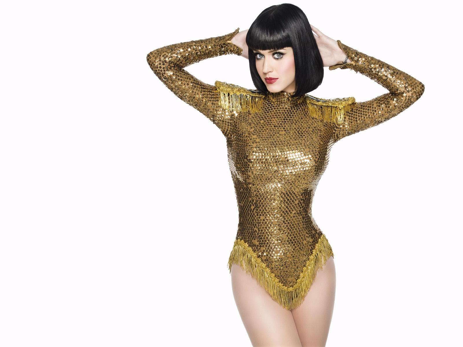 Gold,shiny Patterned Costume