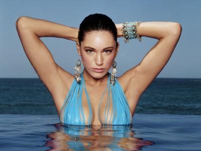 Blue,light colour swimsuit