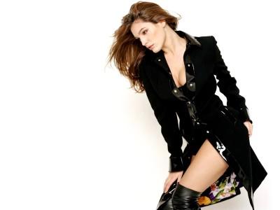 Black,coat boots & dress