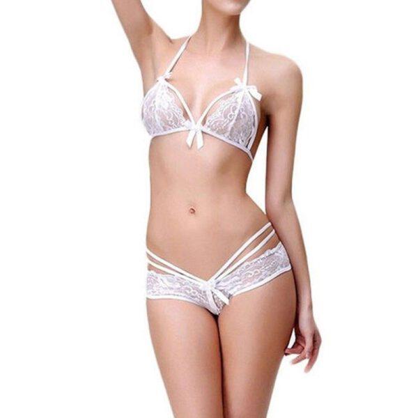 Sexy Women Lingerie Lace Dress Babydoll Underwear Nightwear Sleepwear G-string top female lingerie for women underwire push up