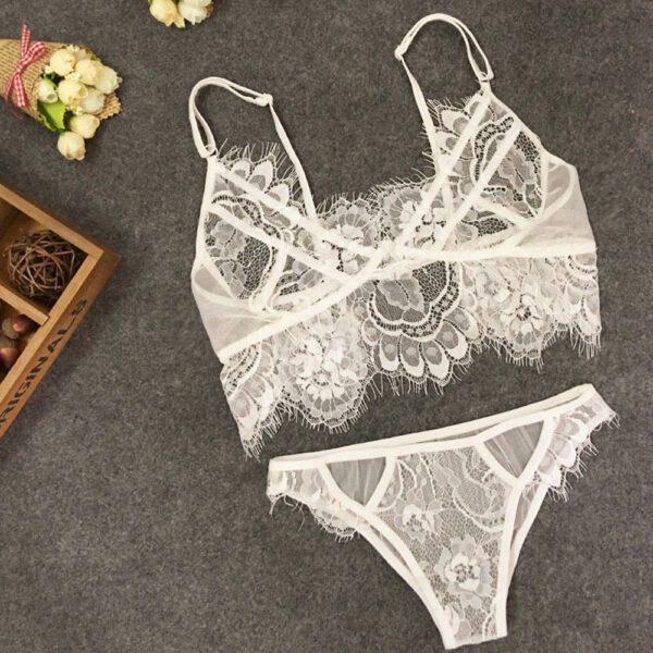 Sexy Women Teddy Lingerie Lace Dress Babydoll Underwear Nightwear Sleepwear G-string top female lingerie women underwire push up