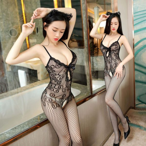 Sexy Lingerie Hot Women Bodysuits Porn Sleepwear Erotic Underwear Body Suit Transparent Sex Clothes Adult Products