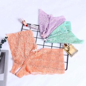 Sexy Panties New Fashion Women Lace Lingerie Plus Size Underwear Open Crotch Bowknot Briefs Underwear Crotchless Underpants 2020