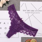 Women-Sexy-See-Through-Lace-Briefs-Knickers-G-String-Thong–Lingerie–Exotic-Cotton-Panties