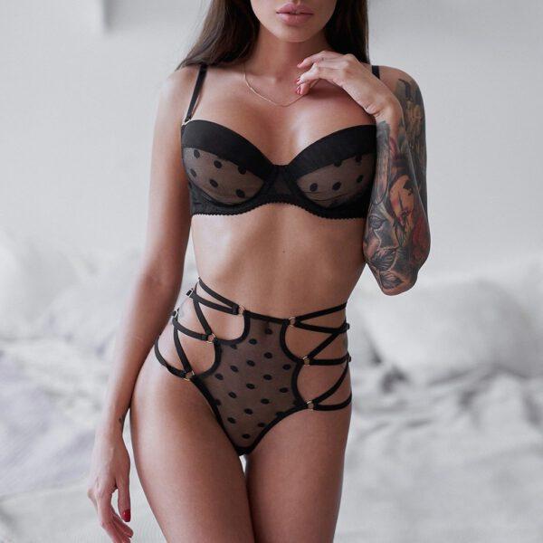 Sexy Lingerie Woman Hot Erotic Underwear Babydoll Sleepwear Teddy Sexi Lenceria Porno Costumes Lace Lingerie Set Exotic Apparel