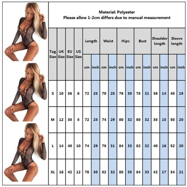 Babydoll Porno Lingerie Sexy Teddy Hot Erotic Bodysuit Catsuit Exotic Body Underwear Sleepwear Lenceria Sex Costumes femme D30
