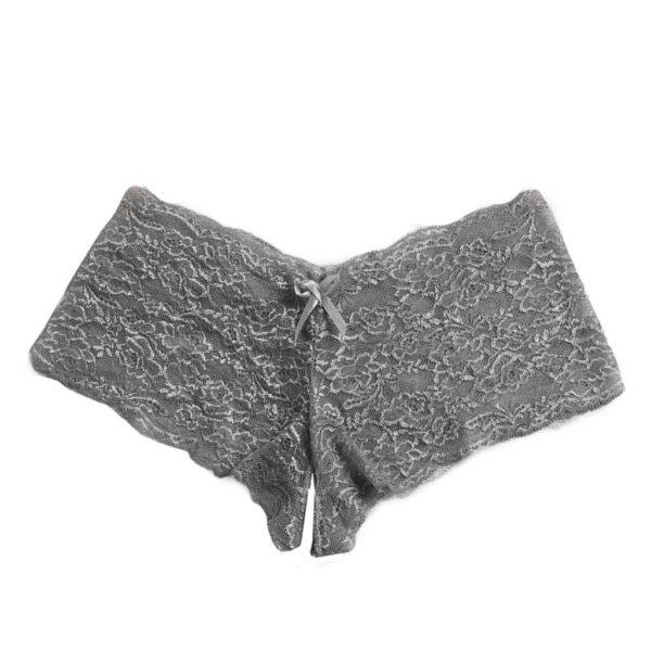 Sexy Panties New Fashion Women Lace Lingerie Plus Size Underwear Open Crotch Bowknot Briefs Underwear Crotchless Underpants 2020