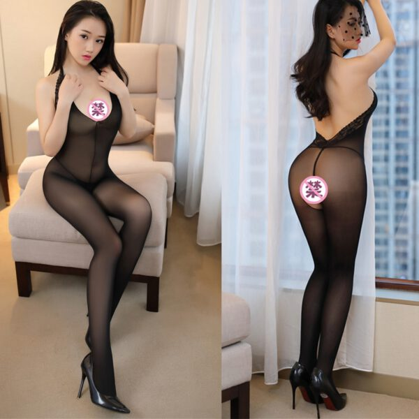 Sexy Erotic Lingerie Teddies Bodysuits Erotic Lingerie Open Crotch Elasticity Mesh Body Stockings Porn Sexy Underwear Costumes