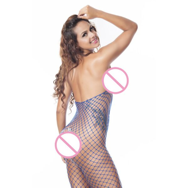 Sexy Fishnet Bodysuit Women Sex Clothes See Through Open Crotch Body stockings Mesh Hollow Out Teddy Lingerie Erotic Costumes