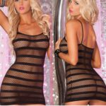 Lady-Stripe-Condole-Belt-Fish-Net-Sex-Appeal-The-Sexy-Lingerie