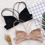New-Women-Bralette-Sexy-Llingerie-Wireless-Bra-Top-Vest-Breathable-Chest-Pad-Wearing-Solid-Underwear-Hot-Sale-Sports-Bra-2020