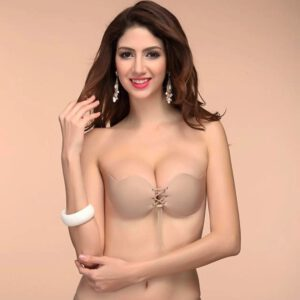 sexy lingerie Women Sexy Strapless Instant Breast Lift Invisible Silicone Wire Free Push Up Bra bralette dentelle femme 50*