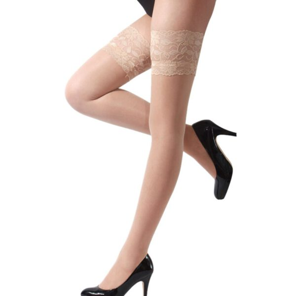 Highs tights Lingerie fishnet stocking Sexy Womens Lingerie Net Lace Top Thigh Stocking Pantyhose Net Lace Top #5