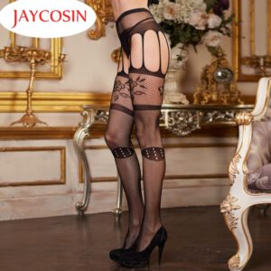 JAYCOSIN Women's Sexy Lingerie Nylon Fishnet Belt Pantyhose Erotic Hosiery Drop Shipping Mar21 Drop Shipping