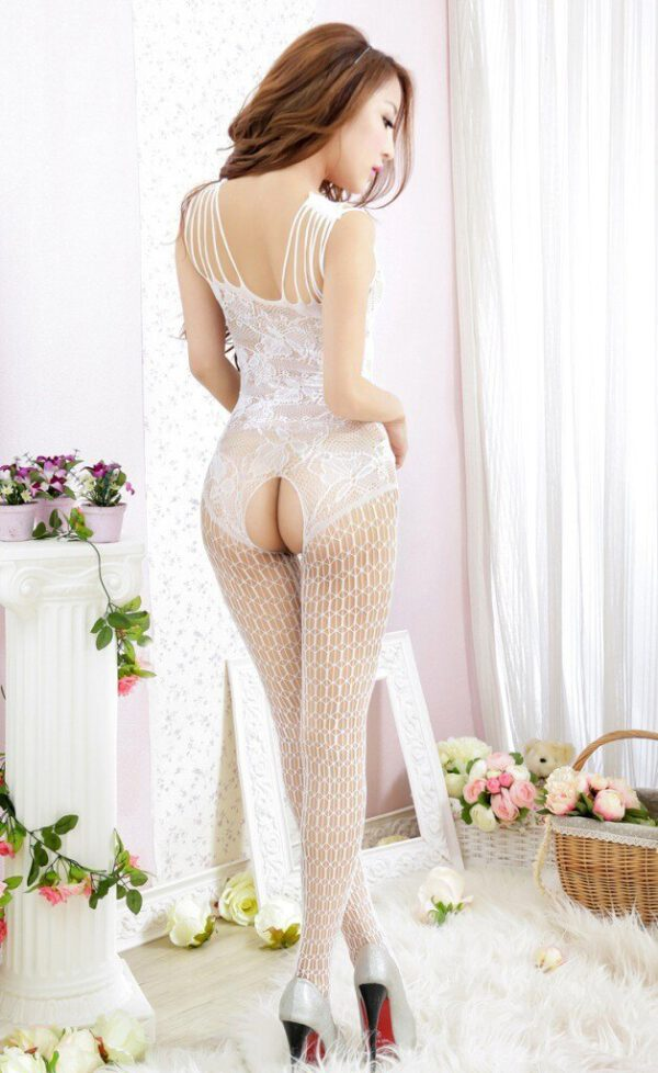 Sexy Teddies Bodysuits Women Sexy Lingerie Intimates Dobby Slips Tights Erotic Hot Sexy Fishnet Stockings Open-seat costumes