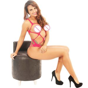 Hot Sale Women Sexy Lingerie Sleepwear Nightwear Body stocking Lace Teddy Dress Babydoll Underwear Sleevless