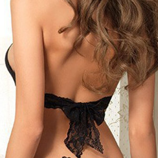 Sexy Lace Bodysuit Lingerie Black Lace Spliced Erotic Lingerie Costumes Body Temptation Transparent Babydoll Nightwear