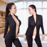 Sexy-Women-Two-Way-Zipper-Erotic-Open-Crotch-Costume-Transparent-Bodysuit-Turtleneck-Body-Stockings-Wear-Sexy-Lingerie