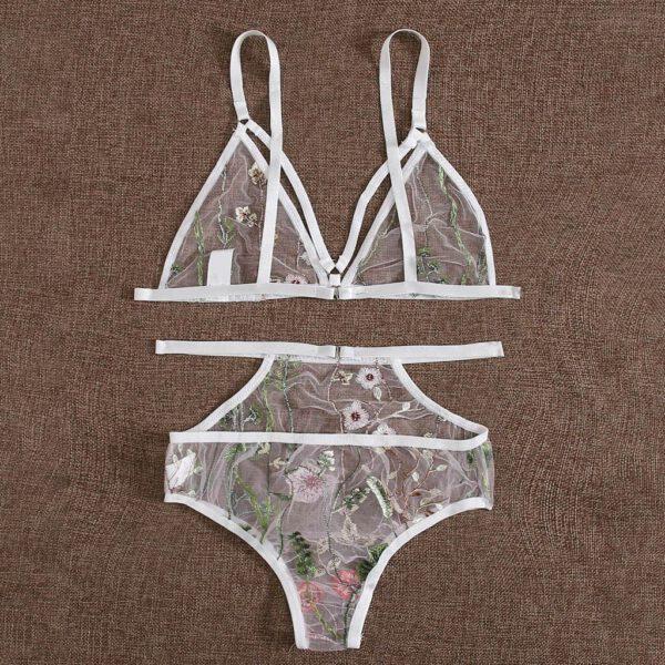 S-3XL Women Sexy Lingerie Set Feminina Lenceria G-String Hot Women Porno Langerie Underwear Transparent Babydoll Erotic Costumes