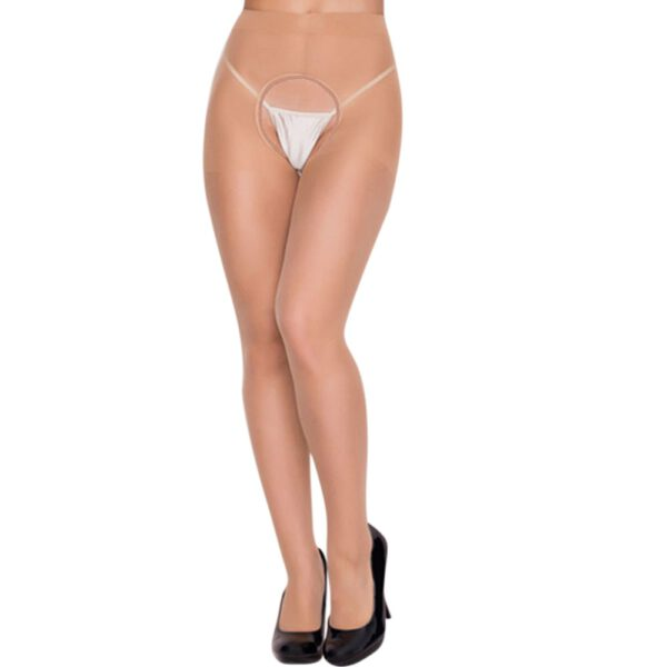 Women's Black Erotic Sexy Stockings Open Kruis Panty Nylon Stockings Tights For Sex Women Sexy Underwear Lingerie Ponczochy Bas