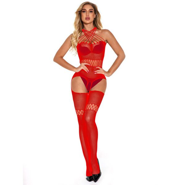 new body stockings for women catsuit sexy Erotic Lingerie Mesh Fishnet Teddies Bodysuits bodystocking underwear tights#P30