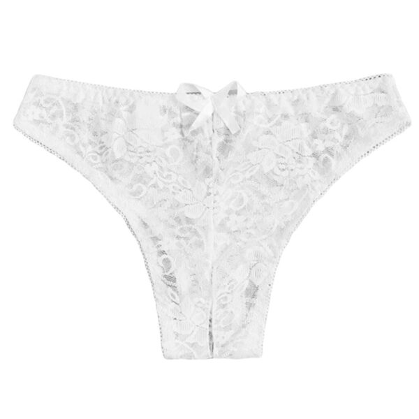 Women Sexy Lingerie hot erotic open crotch Panties Porn Lace transparent underwear crotchless sex wear cheeky briefs