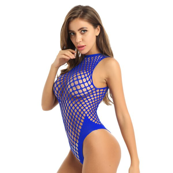 Womens Erotic Teddies Hollow Out bodystocking Women Sexy costumes Lingerie Fishnet Crotchless Babydoll Bodysuits Nightwear
