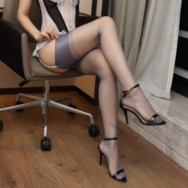 Hot Women's Sexy Stocking Sheer Lace Top Thigh High Stockings Nightclubs Pantyhose Thigh High Stockings Female sexy party#P30
