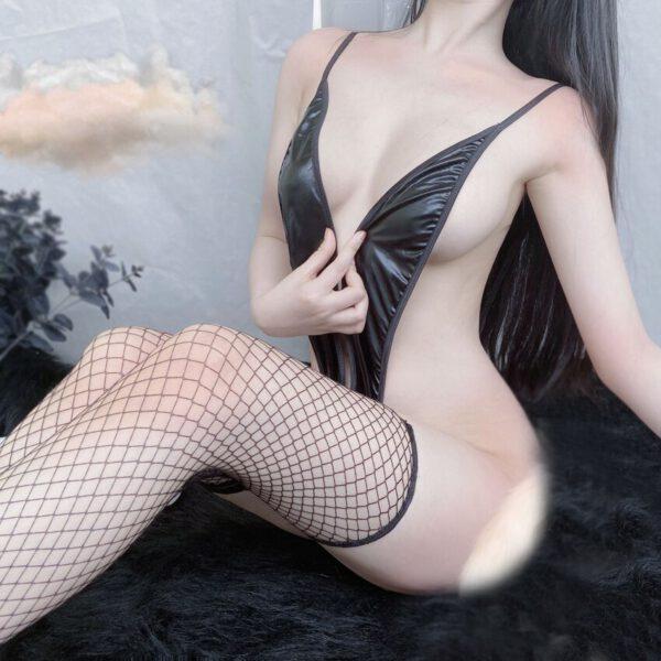 Women Black Sexy Lingerie Set Bikini Temptation Sling Underwear Erotic Bodysuits