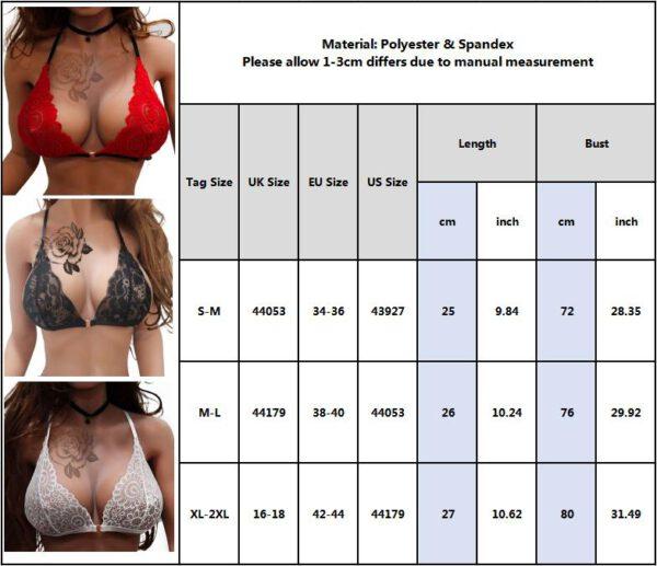 Hollow Out Open Bra Sexy Erotic Babydoll Lace Lingerie Unlined Bralette Nightwear For Women Sexy Night Underwear Sleepwear D30